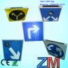 Het LEIDENE Gepersonaliseerde Teken van de Straat, het LEIDENE van het Aluminium Zonne Gepersonaliseerde Teken van de Straat