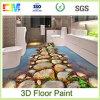 Pintura líquida del suelo del epóxido 3D de la resina de la durabilidad