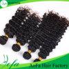 Weave bonito do cabelo da trama da extensão 100% do cabelo das mulheres