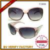 Óculos de sol plásticos coloridos venda por atacado F3008