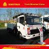 10tクレーントラックのSinotruk HOWO 4X2のトラックによって取付けられるクレーン