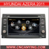 GPS를 가진 Hyundai Azera 2011년, Bluetooth를 위한 특별한 Car DVD Player. A8 Chipset Dual Core 1080P V-20 Disc WiFi 3G 인터넷 (CY-C006로)