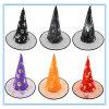 Halloween fornece o chapéu mágico do feiticeiro de Hdouble da festa de Natal, chapéu da bruxa