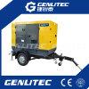 генератор 100kVA передвижным установленный трейлером молчком Cummins (GPC100ST)