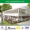 Zwei Floor Tent in Glass Walls Used als Temporary Marquee