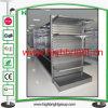 Doppeltes versah Metallsupermarkt-Bildschirmanzeige-Regale mit Seiten