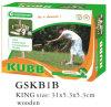 Напольный деревянный комплект игры Kubb