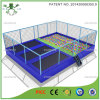 Precioso Seguridad Indoor Trampoline Arena con Ballpool