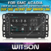 Witson Car DVD voor GPS 1080P DSP Capactive Screen WiFi 3G Front DVR Camera van Gmc Acadia Car DVD