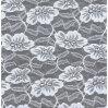 Garmentsのための花Design Lace Fabric