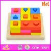 2014熱いSale Kids Educational Block Toy、NewおよびPopular Children Wooden BlocksおよびHighquality Baby Wooden Toy Blocks W13D057