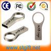 Anel instantâneo da corrente chave do polegar da vara da memória da movimentação do USB 2.0 impermeáveis novos do metal