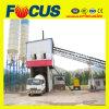 Planta de mistura concreta inteiramente automática do transporte de correia Hzs60 para a construção