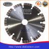Turbo de sierra de la hoja: 150 mm Hoja de sierra de diamante láser