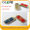 Movimentação da pena do USB do logotipo da abóbada da movimentação do flash do USB da resina Epoxy (ET067)