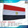 90X180cm 160GSM Spun PolyesterエジプトFlag (NF05F09037)