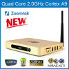 Quad Core Android TV Box com Android 4.4 WiFi dual