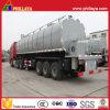du lancement 3-Axle d'asphalte de camion-citerne remorque semi pour le transport d'Asphaltum