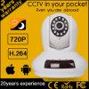 cámara del IP del CCTV HD de la cacerola y de la inclinación del control del teléfono 2015 720p (FM0005)