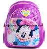 Beau sac d'école pourpre de mode de Mickey (KCB10-02)