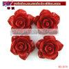 Synthetische Koralle geschnitztes Rosen-Blumen-hängendes Kleid-Zusatzgerät (BO-3079)