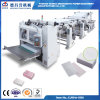 Auto maquinaria perfurada do papel de toalha de mão da dobra do agregado familiar V