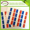 Francia autoadhesivos Bandera Label