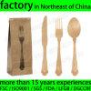 Disposable en bois Cutlery Kit Pack avec Napkin