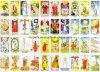 Carta di Tarot, gioco di Tarot, carta del gioco (DSC02P057)