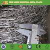 アイオワは電流を通された有刺鉄線のコイルを中国製熱浸した