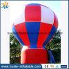 Grosser bekanntmachender aufblasbarer Grundballon