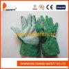 De groene Handschoen van de Tuin van de Punten van het Manchet van de Katoenen het Tuinieren Band (DGB110)