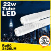 TUV VDE UL cUL Dlc ETL Approved 18W Oval LED Tube Light T8