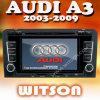 Witson voiture lecteur DVD GPS pour Audi A3 / S3 / RS3 (2003-2009)