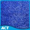 Herbe en plastique H12 d'hockey de couleur bleue