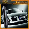 최신 판매 10% Vlt 까만 담채에 의하여 염색되는 포일 차 창 필름
