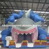 Diapositiva inflable grande animosa para el parque de atracciones