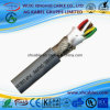 Alimentation électrique Screened Pur Energy/Drag Chain Cable pour Paired Pur Rubber Wire Cable