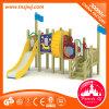Cour de jeu en bois extérieure d'amusement neuf de stationnement d'enfants