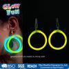 Glow pendientes del aro palillo para el partido del juguete de vacaciones Glowstick