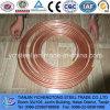 Tubo de cobre y pipa capilares C1220 de la crepe del acondicionador de aire