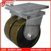 10 Inch Super Schwer-Aufgabe Caster mit Twin PU Wheel