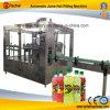 Máquina de rellenar automática del zumo de fruta de Java