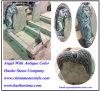 Anjo de pedra de Haobo que cinzela o monumento da lápide do Headstone