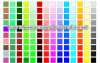 (1.3mm) Various Colors di Double Color Sheet