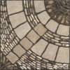 磁器Rustic Parquet Cobble Outside Flooring Tile (400X400mm)