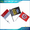 Decoration (T-NF24F03012)를 위한 소형 Suction Car Flag