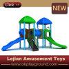 Ce y diapositiva al aire libre plástica del patio de los niños de la ISO (X1504-9)
