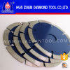 Pressed caliente Segmented Diamond Saw Blade para Granite