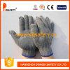Перчатки хлопка 2017/полиэфира Stretchy перчаток качества Ce Ddsafety серые